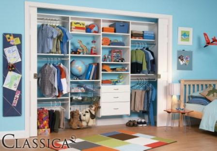 Kids Closets Schulte Clica For Boys