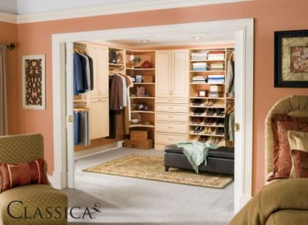 Schulte Classica Master Walk In Closet