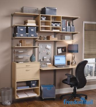 Schulte freedomRail small home office